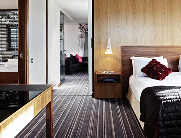 A Penthouse Suite at the Copthorne Hotel, Sheffield.